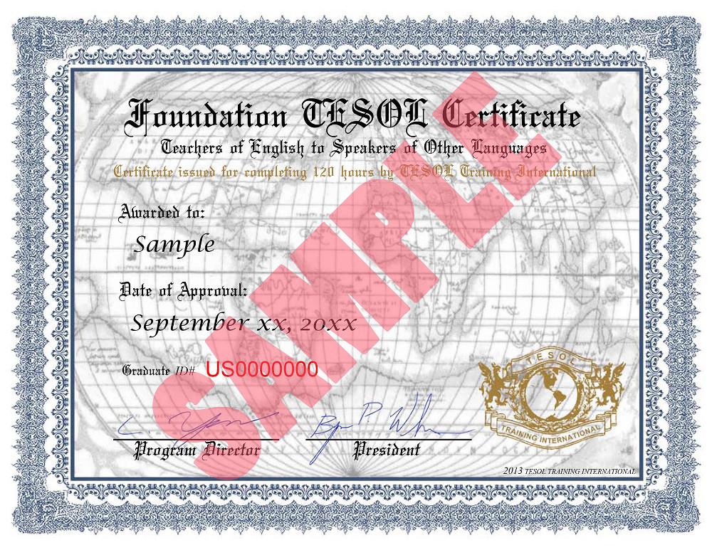 Tefl Tesol International Certificate Hybrid Combined Courses
