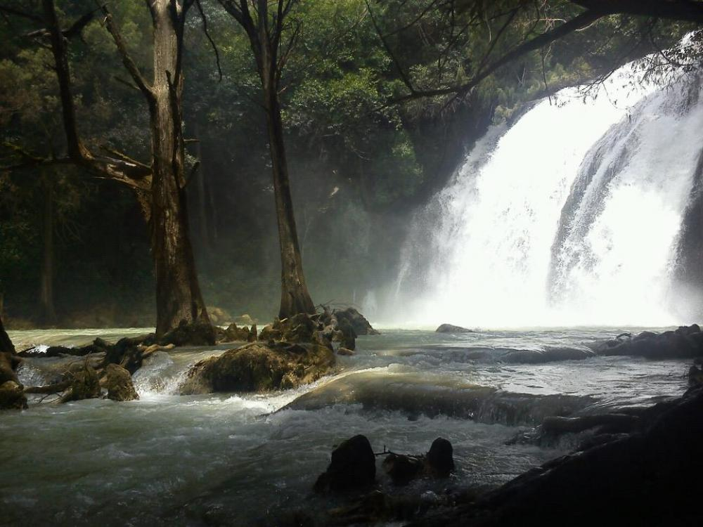 Chiflon Waterfalls near Chiapas