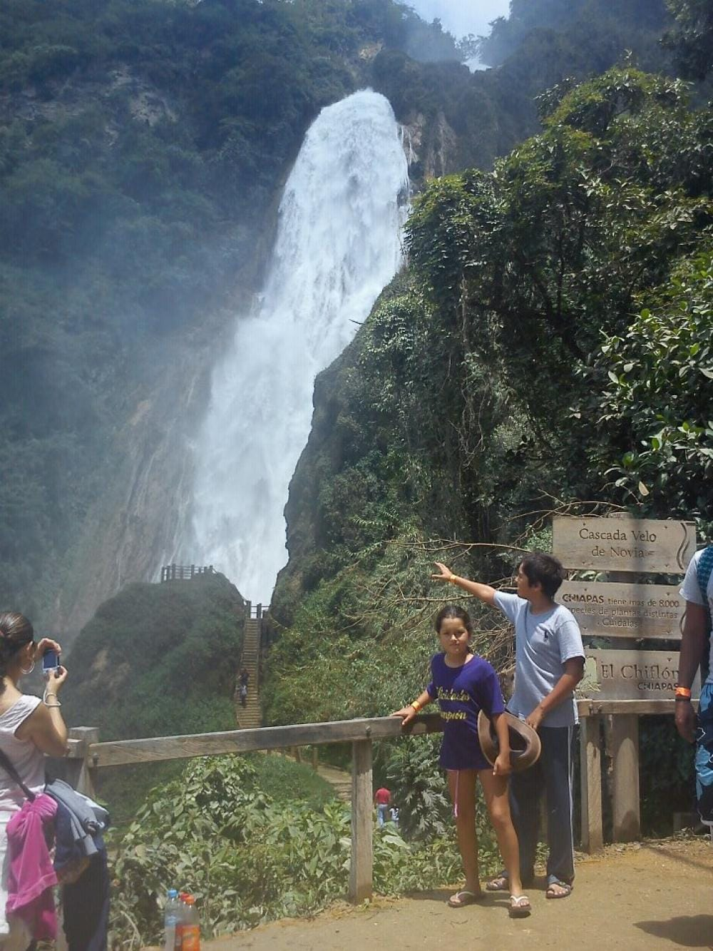 Chiflon Waterfalls in Chiapas