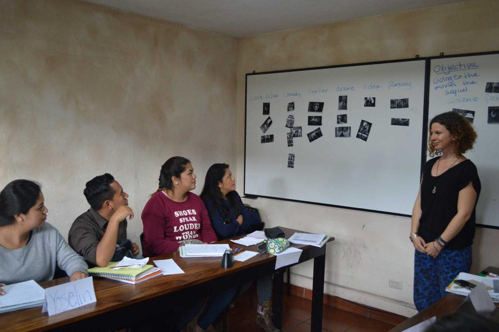 ITTT Trainee and students in Guatemala