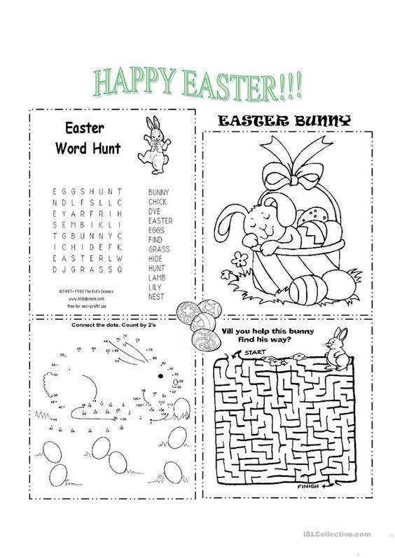 Grammar corner Easter Activities for ESL