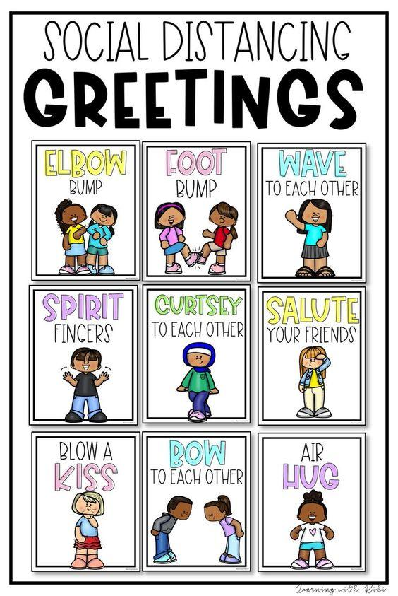 Grammar corner 9 Fun Social Distancing Greetings for the Classroom
