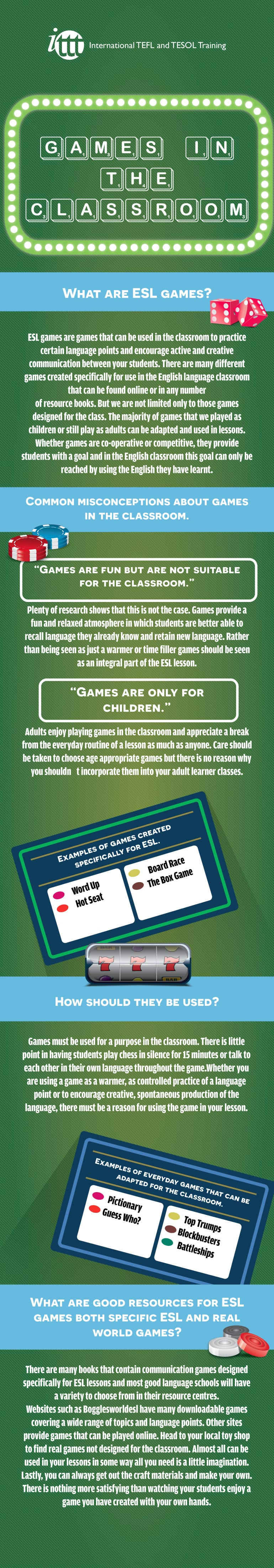 Infographic Games in the Classroom