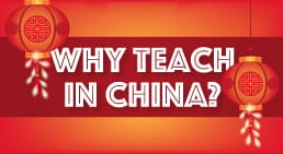 Infographic Why Teach in China