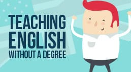 Infographic Teaching English without a Degree