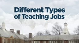 Infographic Different types of jobs