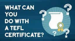 Infographic What Can You Do With a TEFL Certificate