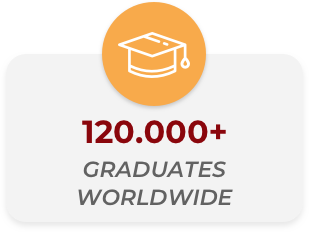 120.000+ graduated worldwide