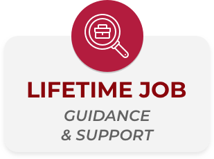 lifetime job guidance & support