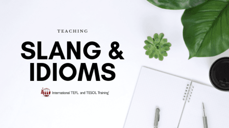 Relevance of Slang and Idioms in the Classroom | ITTT | TEFL Blog
